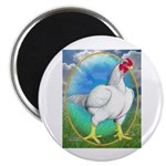 Opal Cornish Rooster Magnet