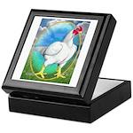Opal Cornish Rooster Keepsake Box