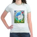 Opal Cornish Rooster Jr. Ringer T-Shirt