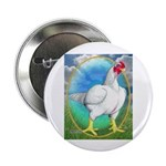 """Opal Cornish Rooster 2.25"""" Button (10 pack)"""