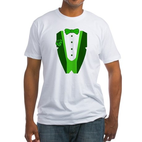Irish Tuxedo Fitted T-Shirt