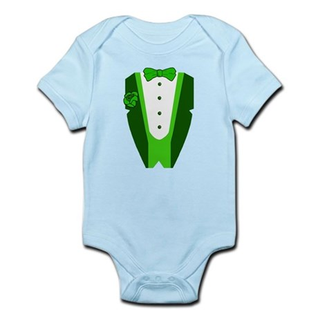 Irish Tuxedo Infant Bodysuit