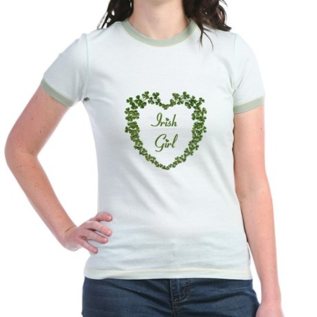 Irish Girl Jr. Ringer T-Shirt