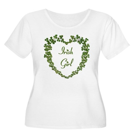 Irish Girl Women's Plus Size Scoop Neck T-Shirt