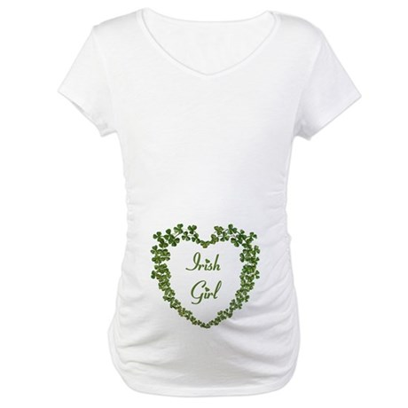 Irish Girl Maternity T-Shirt