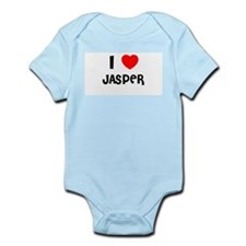 I LOVE JASPER Infant Creeper