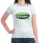 Let Go GREEN Jr. Ringer T-Shirt