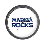 marisa rocks Wall Clock