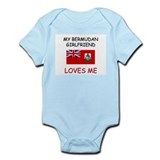 My Bermudan Girlfriend Loves Me Infant Bodysuit