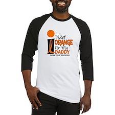 I Wear Orange For My Daddy 9 KC Baseball Jersey