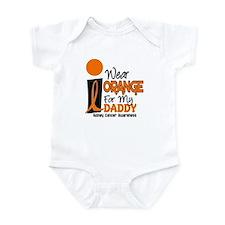 I Wear Orange For My Daddy 9 KC Infant Bodysuit