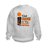 I Wear Orange For My Daddy 9 KC Sweatshirt