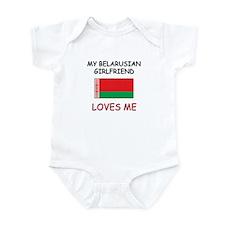My Belarusian Girlfriend Loves Me Infant Bodysuit