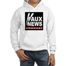 Faux News Jumper Hoody