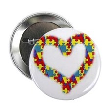 """Someone With Autism Loves Me! 2.25"""" Button (10 pac"""