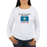 My South Dakota Girlfriend Loves Me T-Shirt