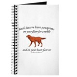 Irish Setter Pawprints Journal