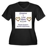Someone I Love Needs A Cure-A Women's Plus Size V-