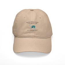 Sheepdog Pawprints Baseball Cap