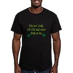 Irish In Me Men's Fitted T-Shirt (dark)