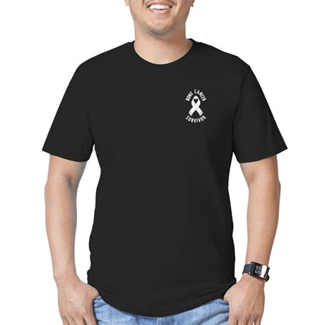 Bone Cancer Survivor Men's Fitted T-Shirt (dark)