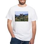White T-Shirt Castello di Prata Sannita