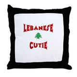 Lebanese Cutie Throw Pillow