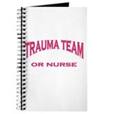 Trauma Team OR RN pink Journal