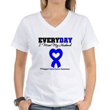 ColonCancerHeart Husband Shirt