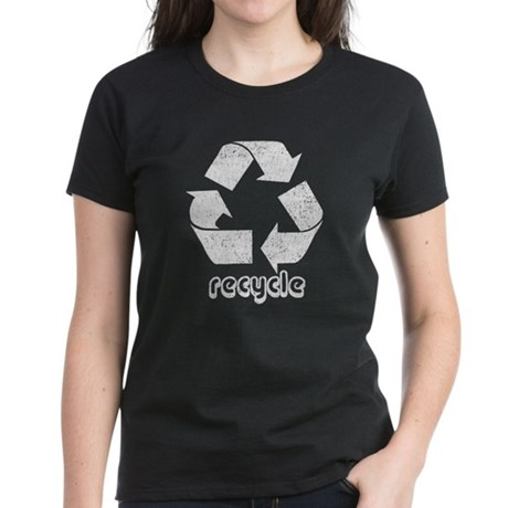 Vintage Recycle Women's Dark T-Shirt