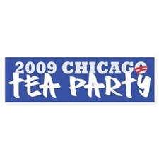 2009 Chicago Tea Party Bumper Sticker (10 pk)