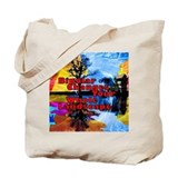 Cute Abstract Tote Bag