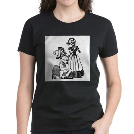 Calavera of Cupid Women's Dark T-Shirt