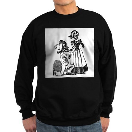 Calavera of Cupid Sweatshirt (dark)