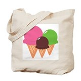 Ice Cream Cones Tote Bag