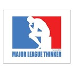 ML Thinker Small Poster
