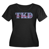 TKD - Tae Kwon Do Women's Plus Size Scoop Neck Dar