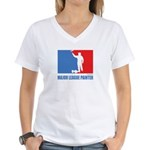 ML Painter Women's V-Neck T-Shirt