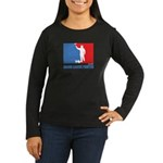 ML Painter Women's Long Sleeve Dark T-Shirt