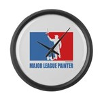 ML Painter Large Wall Clock