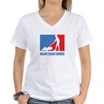 ML Mower Women's V-Neck T-Shirt