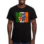Four Provinces Flag Men's Fitted T-Shirt (dark)