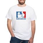 ML Geek White T-Shirt