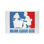 ML Geek Rectangle Magnet (10 pack)