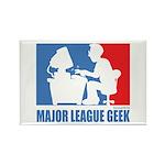 ML Geek Rectangle Magnet (100 pack)