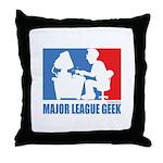 ML Geek Throw Pillow