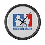 ML Geek Large Wall Clock
