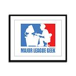 ML Geek Framed Panel Print