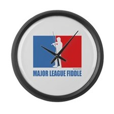 ML Fiddle Large Wall Clock
