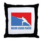ML Fencer Throw Pillow